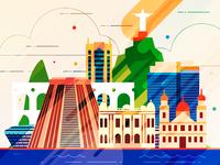 Rio de Janeiro - infographic element