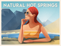 The Best Natural Hot Springs - infographic header