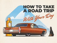 Road Trip With Dog - infographic header