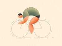 Cyclist hires floydworx