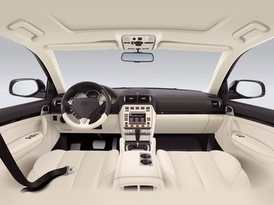 Car interior - infographic element