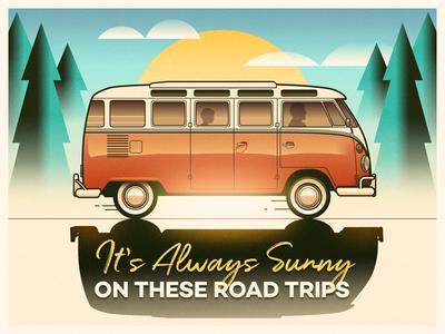 Camper Van - infographic header