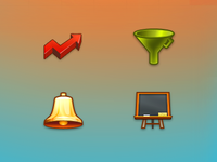 Icons for a plugin's site