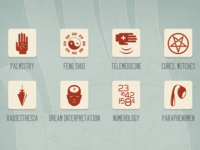Esoterism infographics elements by Csaba Gyulai on Dribbble