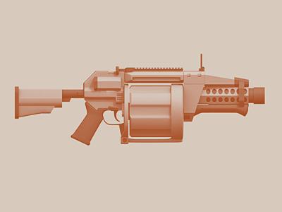 FGL-40 grenade launcher