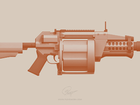 Fgl40 grenade launcher floydworx