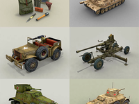 Codename: Panzers game units