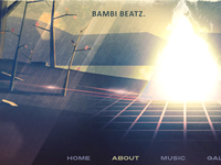 Bambi Beatz site header