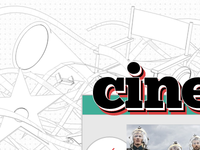 Cinematrix blog design