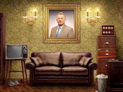 About Schmitt schmitt pal office former president hungary resign room furnitures tv couch desk picture frame light peeling texture wallpaper