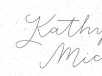 Kathy + Michael