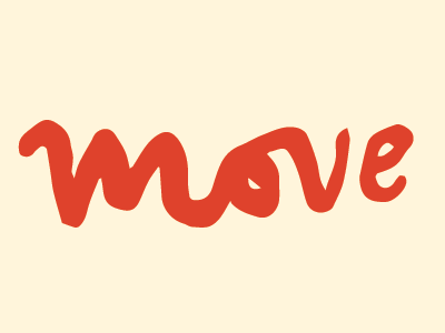 Move move handlettering lettering