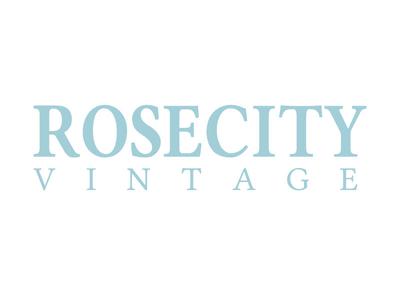 Logo Design - Rose City Vintage thrift store logo vintage store logo logos identity design branding logo design