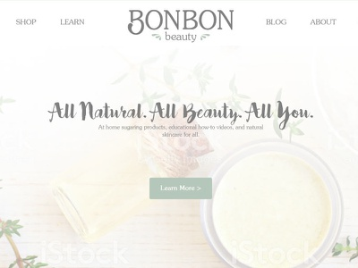 Web Design For Bon Bon Beauty graphic design web development web design wordpress