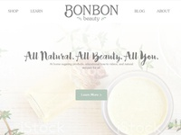 Web Design For Bon Bon Beauty
