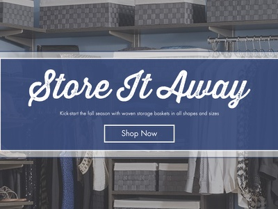 Storables Homepage Banner digital design ecommerce banners graphic design