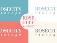 Rose City Vintage - New Logo