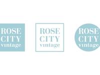 Rose City Vintage - Logo Variations
