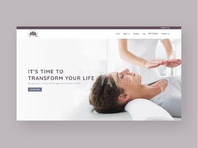 Lightrays Website Re-Design reiki website websitedesign webdesigner webdesign website designer website design