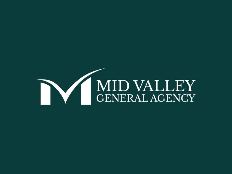 Updated logo for MVGA logo design concept insurance logo wordmark logo wordmark logo design