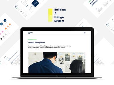 Building A Design System inhouse system designsystem uiux ui design