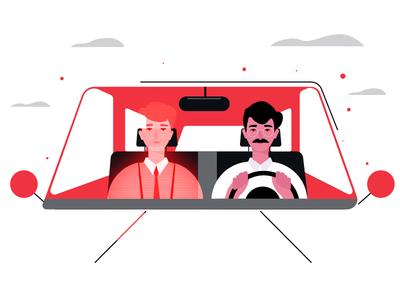 Virtual driving guide
