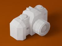 Papercraft Nikon F-301