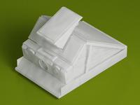 Polaroid SX 70 Papercraft