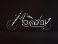Monday Mo. Co 3D Type Bike