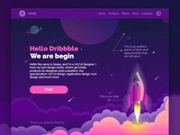 Hello, Dribbble from ASAG!