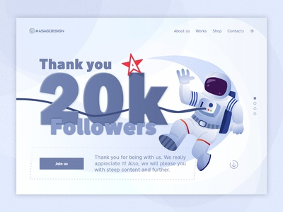 We have 20K followers!