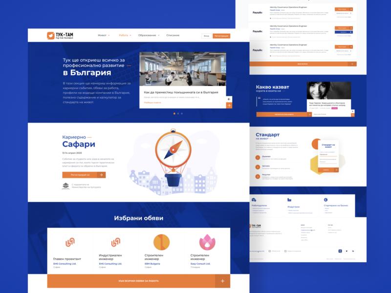 Tuk-Tam Guide Desktop Website