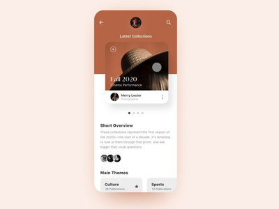 Mobile App Horizontal Slider collections paging scrolling scroll animation after effects ae aep flinto transition box card interface app mobile prototype slider horizontal scroll ux ui