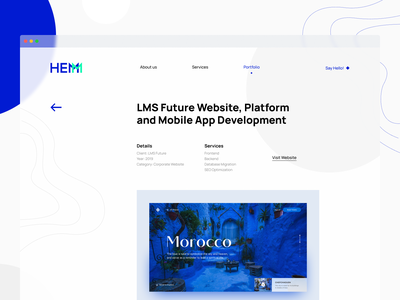 Hemm Studio Portfolio - Case Study studio development experience app grid figma responsive web design case study portfolio typography layout mobile desktop website user interface interface ux ui