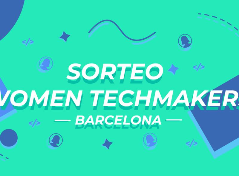 Women techmaker banner sorteo graphicdesign womentechmaker adobe illustrator vector banner adobe ilustrator illustration