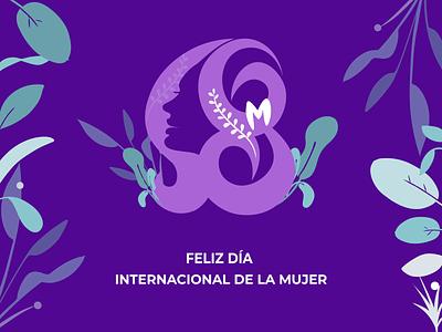 Feliz Día internacional de la mujer design ilustrator adobe vector women´sday díadelamujer digital mujer