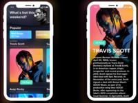 iPhone X Music News APP