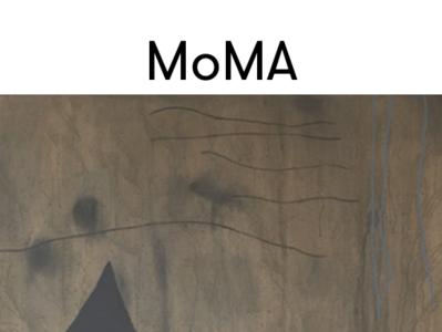 MoMa museum UI redesign art museum photoshop inivision moma inspiration skech mockup redesign icon apple web  design ux  ui ux ios
