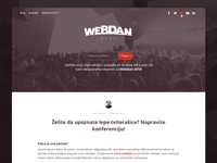 Webdan conference blog design