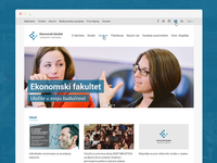 New website for Faculty of Economics in Belgrade