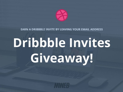 2 Dribbble invites giveway!