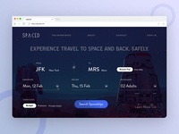 Homepage UI for SPACED