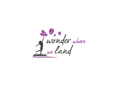 Wonder where we land branding logo graphicdesign logodesign