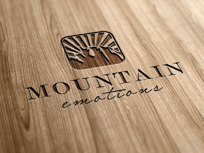 Mountain Emotions design corporate ci branding logo graphicdesign logodesign