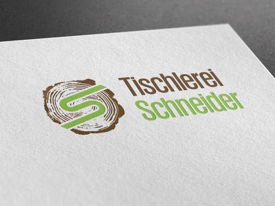 Tischlerei Schneider design corporate ci branding logo graphicdesign logodesign
