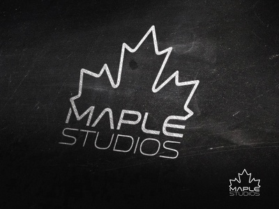 Maple Studios logodesign leafe maple logo