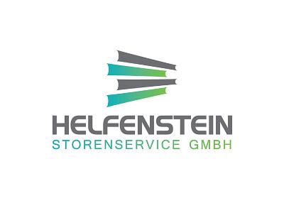 Helfenstein Storenservice logodesign rolläden storen logo