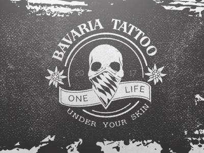 Bavaria Tattoo skin bavaria tattoo studio logodesign logo