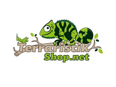Logodesign Terraria Shop design illustration graphicdesign branding logo logodesign