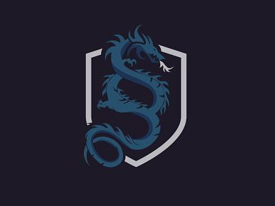Logodesign Paragrapgh Symbol and Dragon design illustration graphicdesign logo logodesign